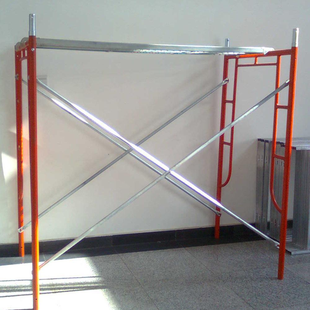2 khung 2 chéo là cấu tạo 1 bộ giàn giáo khung nhỏ