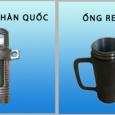 Ống ren hàn quốc và ống ren pháp